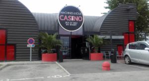 facade du casino de vanne